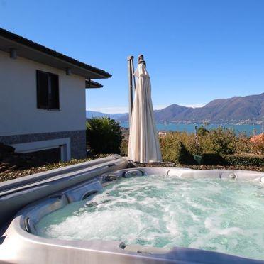 Außen Sommer 3, Rustico Adelina, Luino, Lago Maggiore, Lombardei, Italien