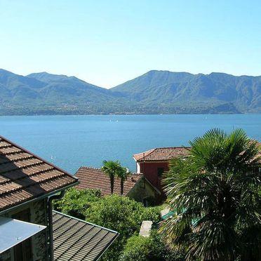 Außen Sommer 3, Rustico Morandi, Cannero Riviera, Lago Maggiore, Piemont, Italien