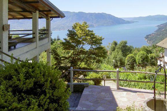Außen Sommer 1 - Hauptbild, Rustico delle Rose, Cannero Riviera, Lago Maggiore, Piemont, Italien