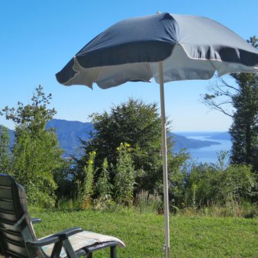Außen Sommer 4, Chalet Baita Checc, Cannero Riviera, Lago Maggiore, Piemont, Italien