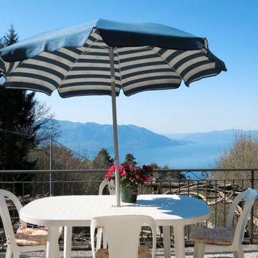 Außen Sommer 3, Ferienhaus Baita Lavu, Cannero Riviera, Lago Maggiore, Lombardei, Italien