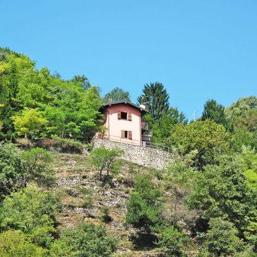 Außen Sommer 2, Ferienhaus Ca' Rossa, Porlezza, Luganer See, Lombardei, Italien