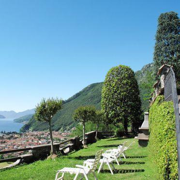 Außen Sommer 2, Villa Bellavista, Dongo, Comer See, Lombardei, Italien