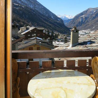 Außen Sommer 2, Rustico Plen Solei, Valtournenche, Aostatal, Aostatal, Italien