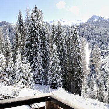 Außen Winter 30, Chalet Baita El Deroch, Predazzo, Fleimstal, Trentino-Südtirol, Italien