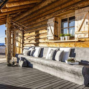 Außen Sommer 2, Chalet Lusia, Moena, Dolomiten, Trentino-Südtirol, Italien