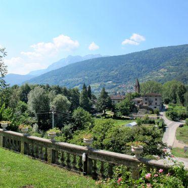 Außen Sommer 4, Villa la Perla del Lago, Lago di Caldonazzo, Trentino-Südtirol, Trentino-Südtirol, Italien