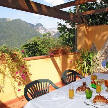 Außen Sommer 4, Ferienhaus Mare e Monti, San Carlo Terme, Versilia, Lunigiana und Umgebung, Toskana, Italien