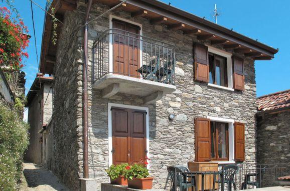 Außen Sommer 1 - Hauptbild, Rustico Alex, Pianello Lario, Comer See, Lombardei, Italien