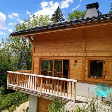 Außen Sommer 1 - Hauptbild, Chalet Penguin Hill, Saint Gervais, Savoyen - Hochsavoyen, Auvergne-Rhône-Alpes, Frankreich