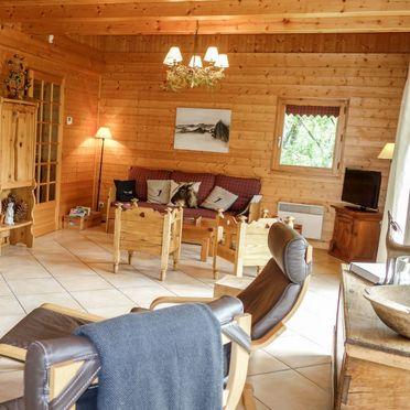 Innen Sommer 5, Chalet du Bulle, Saint Gervais, Savoyen - Hochsavoyen, Auvergne-Rhône-Alpes, Frankreich