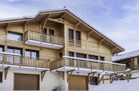 Innen Winter 13, Chalet Cupelin 396, Saint Gervais, Savoyen - Hochsavoyen, Rhône-Alpes, Frankreich