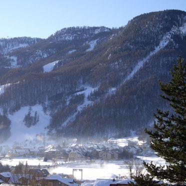 Außen Winter 17, Chalet L'Amandier, Serre Chevalier, Alpes du Sud, Provence-Alpes-Côte d'Azur, Frankreich