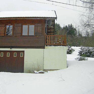 Außen Winter 7, Chalet Gerbepal, Gerbépal, Vogesen, Elsass, Frankreich