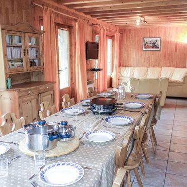 Innen Sommer 4, Chalet Mendiaux, Saint Gervais, Savoyen - Hochsavoyen, Auvergne-Rhône-Alpes, Frankreich