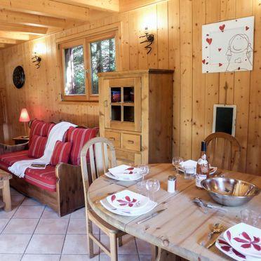 Innen Sommer 2, Chalet Evasion, Chamonix, Savoyen - Hochsavoyen, Auvergne-Rhône-Alpes, Frankreich
