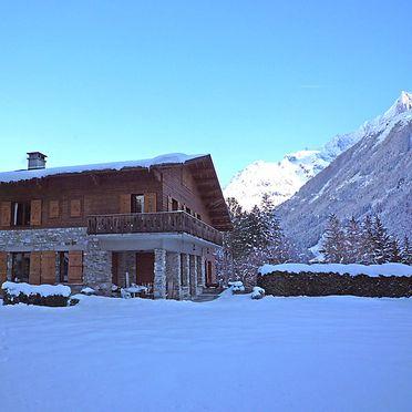Außen Winter 28, Chalet Malo, Chamonix, Savoyen - Hochsavoyen, Auvergne-Rhône-Alpes, Frankreich