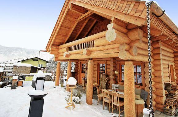 Außen Winter 29 - Hauptbild, Blockhütte Karin, Axams, Tirol, Tirol, Österreich