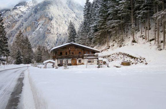 Außen Winter 24 - Hauptbild, Chalet Gais, Mayrhofen, Zillertal, Tirol, Österreich