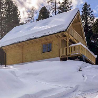 Außen Winter 23, Chalet Tom, Sirnitz - Hochrindl, Hochrindl-Alpl, Kärnten, Österreich