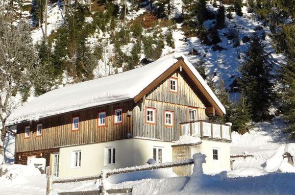 Außen Winter 24 - Hauptbild, Ferienchalet Plaik, Sankt Martin am Tennengebirge, Pinzgau, Salzburg, Österreich