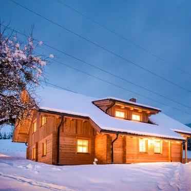 Außen Winter 27, Chalet Grimmingblick, Gröbming, Unterlengdorf, Steiermark, Österreich