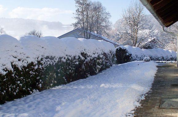 Innen Winter 21, Ferienhaus Haberlsäge, Neukirchen, Bayerischer Wald, Bayern, Deutschland