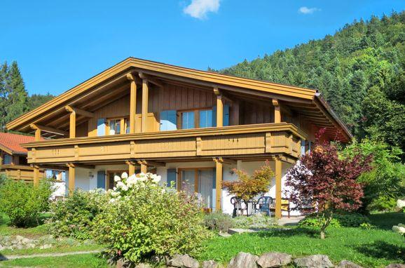 Außen Sommer 1 - Hauptbild, Ferienchalet Chiemsee, Sachrang, Oberbayern, Bayern, Deutschland