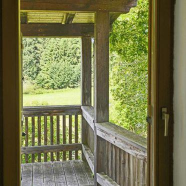 Innen Sommer 3, Ferienchalet am Goldenen Steig, Mauth, Bayerischer Wald, Bayern, Deutschland