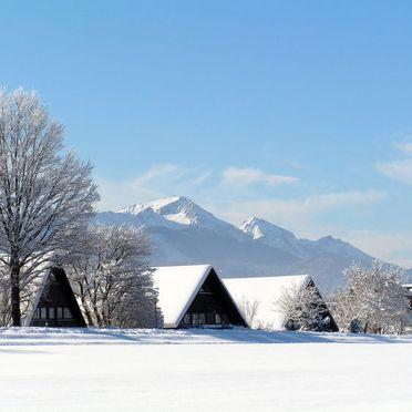 Außen Winter 26, Hütte Hochfelln, Siegsdorf, Oberbayern, Bayern, Deutschland
