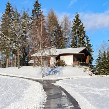 Außen Winter 31, Hütte Rustika am Wörthersee, Klagenfurt am Wörthersee, Kärnten, Kärnten, Österreich