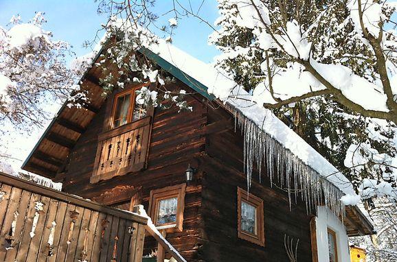 Außen Winter 28 - Hauptbild, Hütte Reserl am Wörthersee, Velden am Wörthersee, Kärnten, Kärnten, Österreich