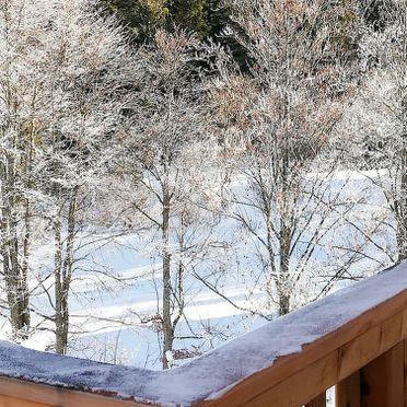 Außen Winter 22, Chalet Steirer am Grundlsee, Grundlsee, Salzkammergut, Salzburg, Österreich