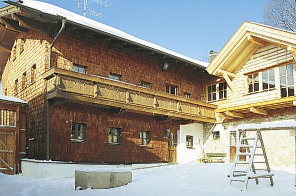 Außen Winter 30 - Hauptbild, Ferienhütte Mader, Bischofsmais, Bayerischer Wald, Bayern, Deutschland