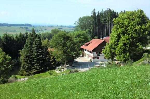 Außen Sommer 1 - Hauptbild, Ferienhaus St. Eustachius, Leutkirch, Allgäu, Bayern, Deutschland