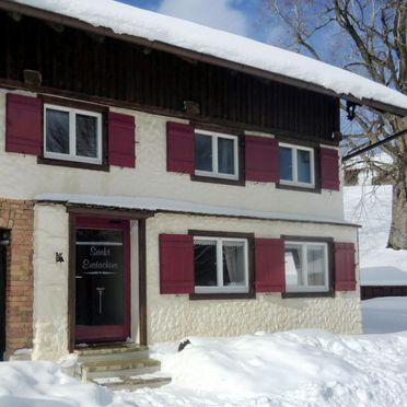 Außen Winter 21, Ferienhaus St. Eustachius, Leutkirch, Allgäu, Bayern, Deutschland