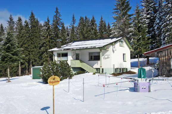 Außen Winter 22 - Hauptbild, Ferienhaus Paula, Bayerisch Eisenstein, Bayerischer Wald, Bayern, Deutschland