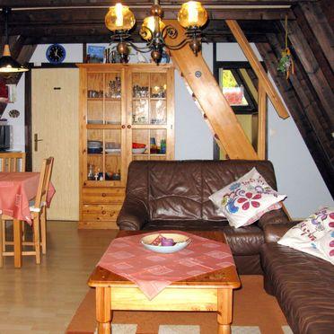 Innen Sommer 4, Hütte Jägerwiesen im Bayerischen Wald, Waldkirchen, Waldkirchen, Bayern, Deutschland