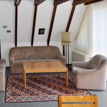 Innen Sommer 5, Hütte Oslo in Bayern, Siegsdorf, Oberbayern, Bayern, Deutschland