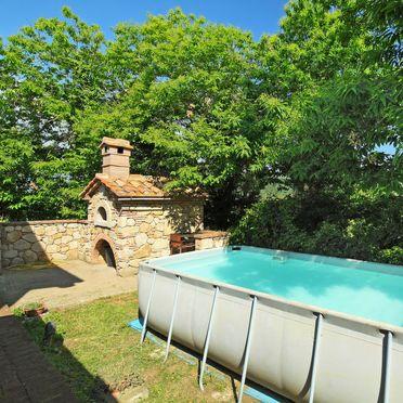 Außen Sommer 2, Casa le Fonte, Roccastrada, Maremma, Toskana, Italien