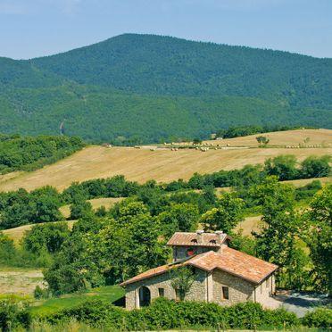 Außen Sommer 3, Casa le Fonte, Roccastrada, Maremma, Toskana, Italien