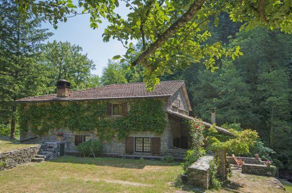 Außen Sommer 1 - Hauptbild, Villa il Mulino di Cecco, Vernio, Florence Countryside, Toskana, Italien