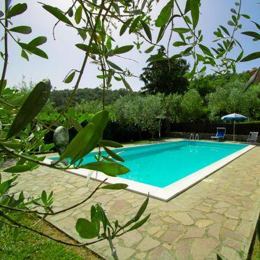 Außen Sommer 5, Villa il Riccio, Cortona, Arezzo, Cortona und Umgebung, Toskana, Italien