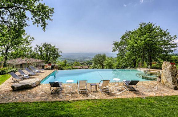 Außen Sommer 1 - Hauptbild, Villa Casale Il Poggino, Castellina in Chianti, Toskana Chianti, Toskana, Italien