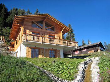 Chalet Chocolat in La Tzoumaz - Wallis - Schweiz