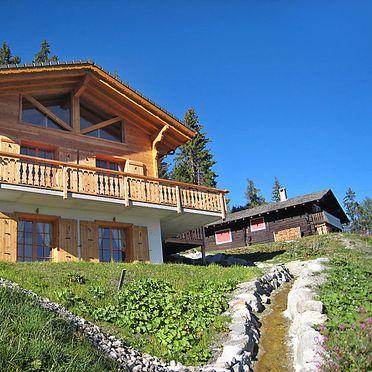 Außen Sommer 4, Chalet Chocolat in La Tzoumaz, La Tzoumaz, Wallis, Wallis, Schweiz