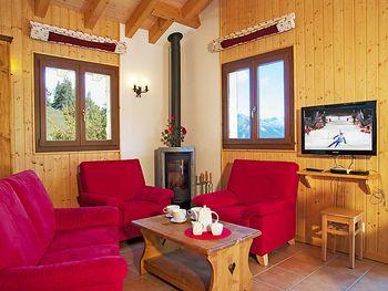 Chalet Petite-Arvine  in La Tzoumaz - Wallis - Schweiz