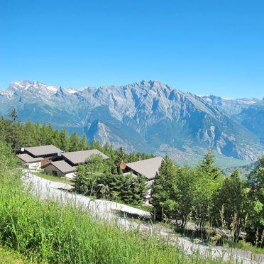 Außen Sommer 2, Chalet Edelweiss in La Tzoumaz, La Tzoumaz, Wallis, Wallis, Schweiz