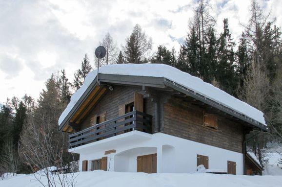 Außen Winter 18 - Hauptbild, Chalet Edelweiss in La Tzoumaz, La Tzoumaz, Wallis, Wallis, Schweiz