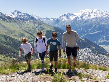 Chalet Edelweiss in La Tzoumaz - Wallis - Schweiz